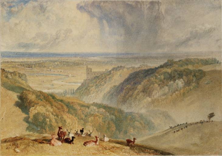 Arundel Castle 1824 © Tate, London