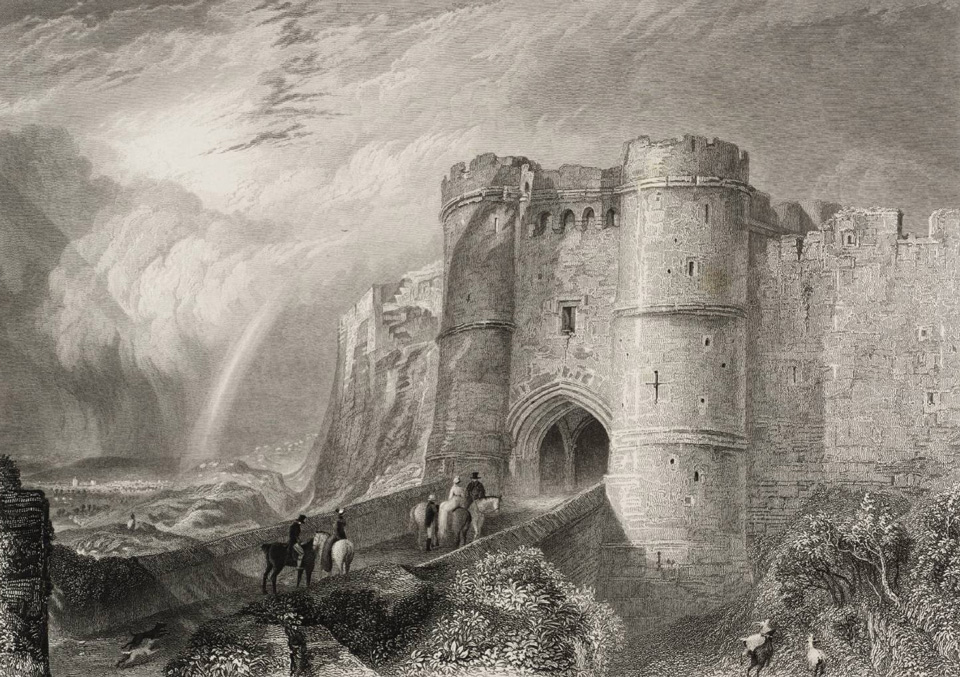 Carisbrooke Castle 1830 © Tate, London