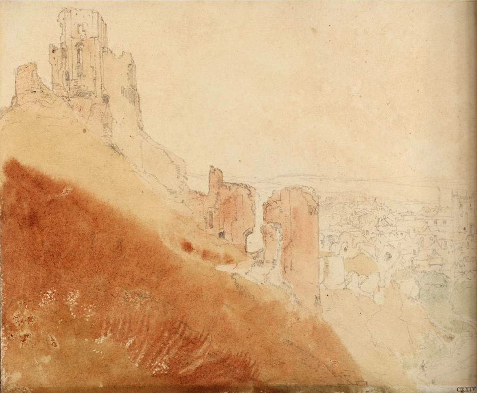 Corfe Castle 1811 © Tate, London