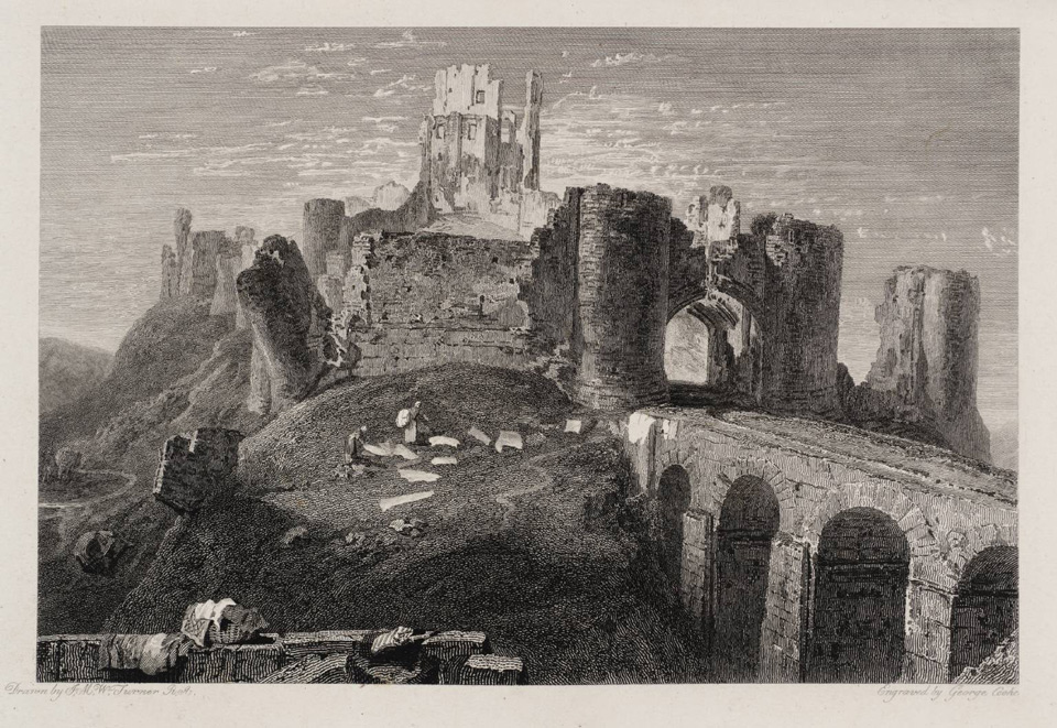 Corfe Castle 1814 © Tate, London