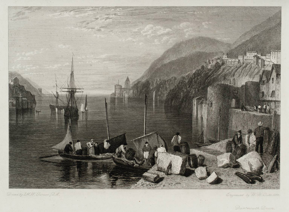 Dartmouth Castle 1815 © Tate, London
