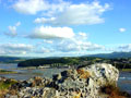 Photo © Harvey S. Hudson 2004 - Conwy Castle from the summit of the west hill