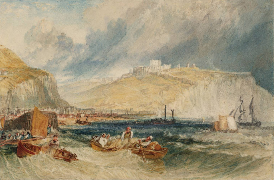 Dover Castle 1825 © Tate, London