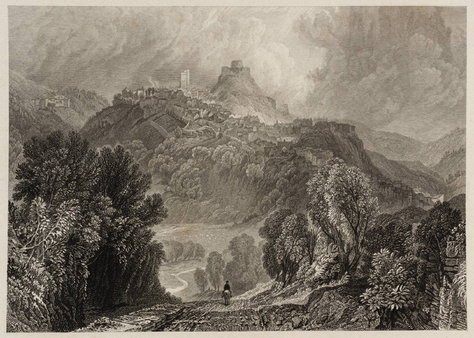 Launceston Castle 1827 © Tate, London