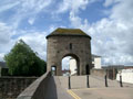 Monnow River gate tower photo Charles Taylor