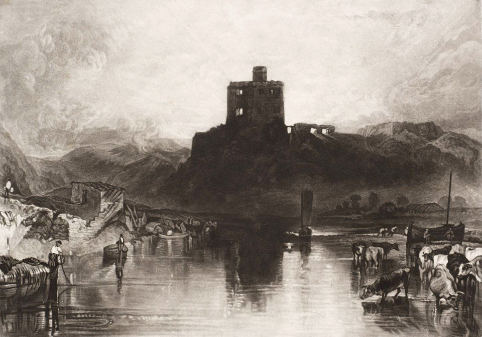 Norham Castle 1824 © Tate, London