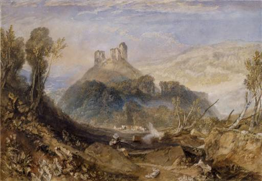 Okehampton Castle 1826 © Tate, London