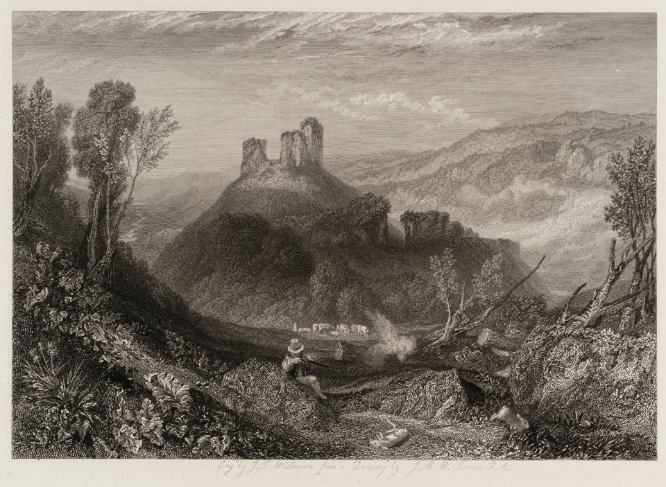 Okehampton Castle 1828 © Tate, London