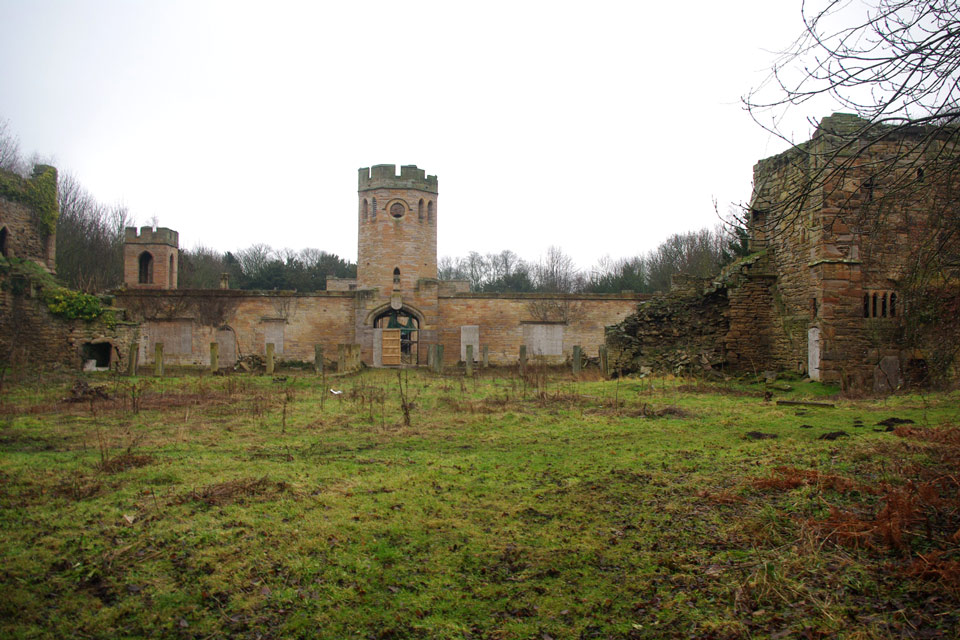 RAVENSWORTH CASTLE, DURHAM