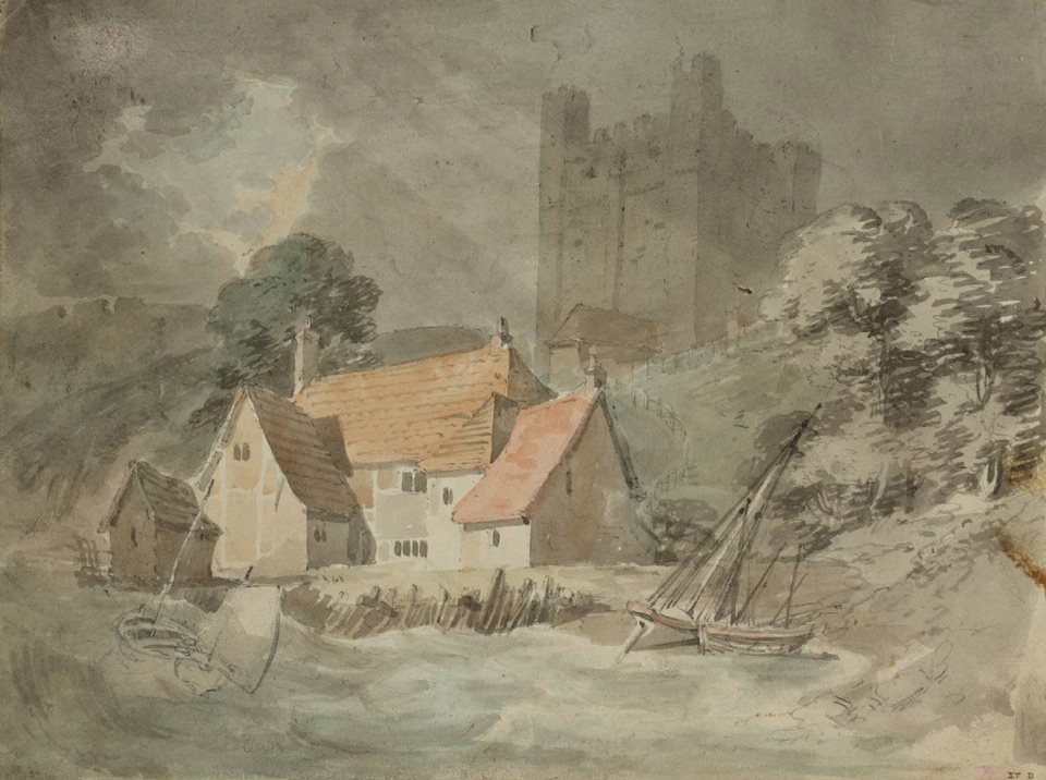 Rochester Castle 1793 © Tate, London