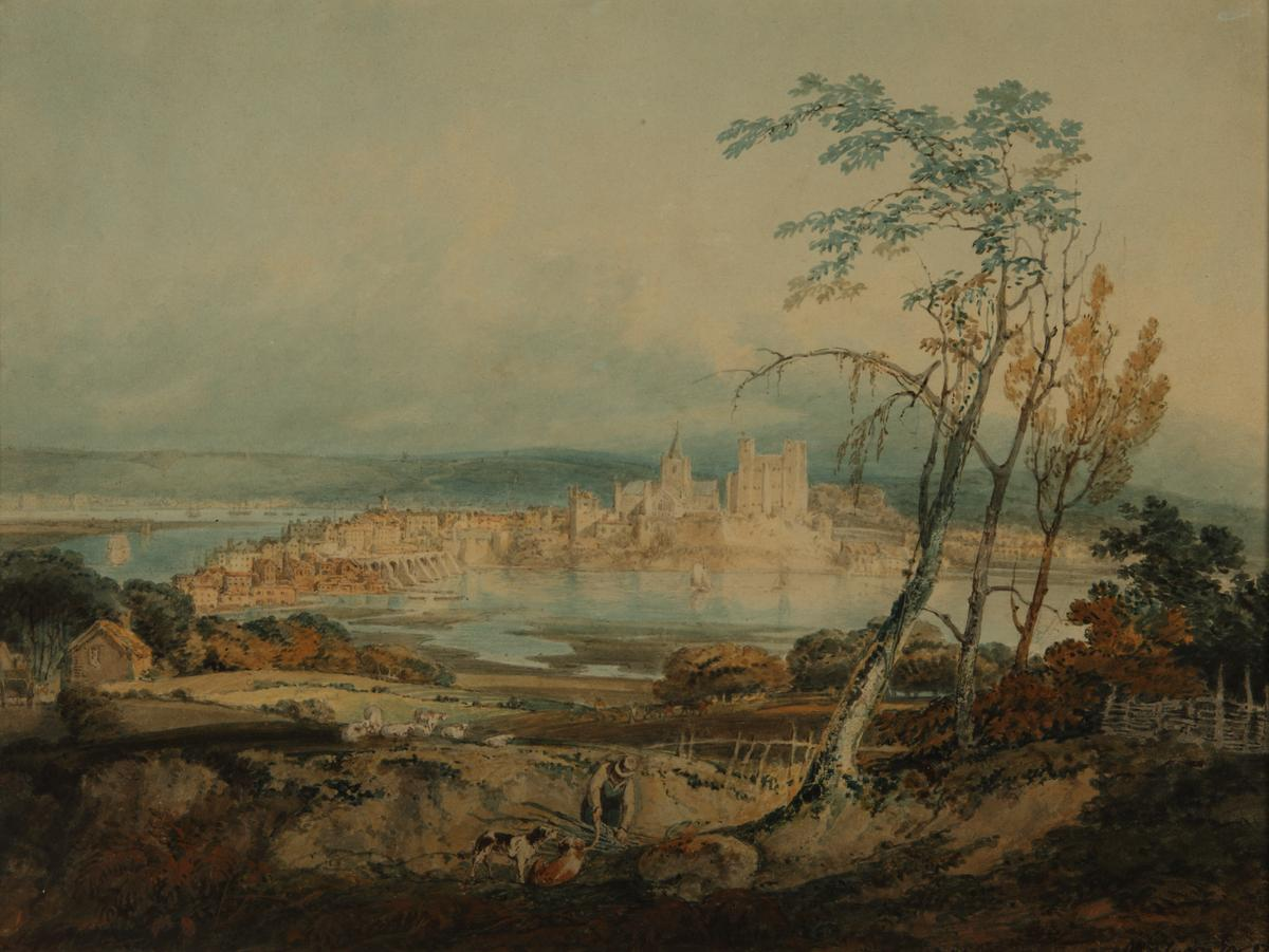 Rochester Castle 1795 © Manchester City Galleries