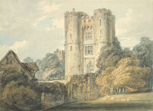 Saltwood Castle © 1795 The Ashmolean Museum, Oxford