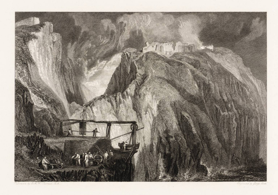Tintagel Castle 1818 © Tate, London
