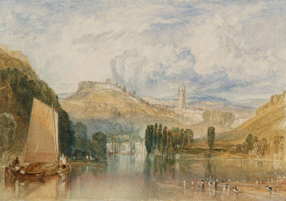 Totnes Castle 1824 © Tate, London