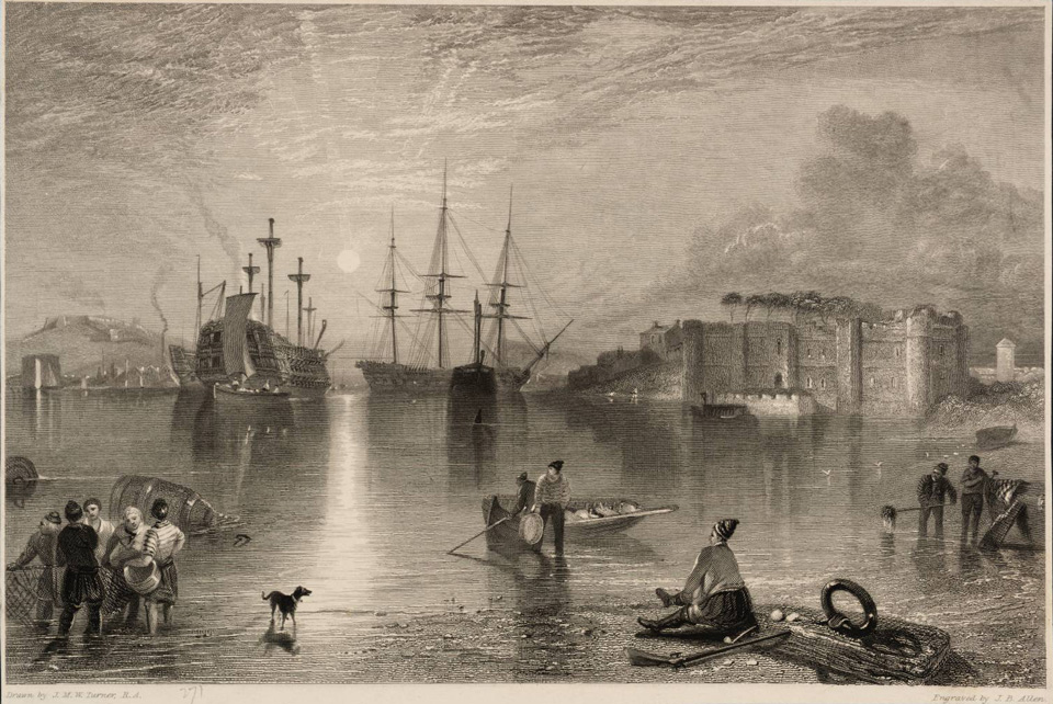 Upnor Castle 1833 © Tate, London