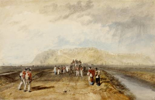 Winchelsea and the Military Canal 1817 Private collection