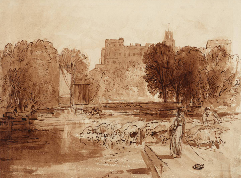 Windsor Castle 1807 © Tate, London
